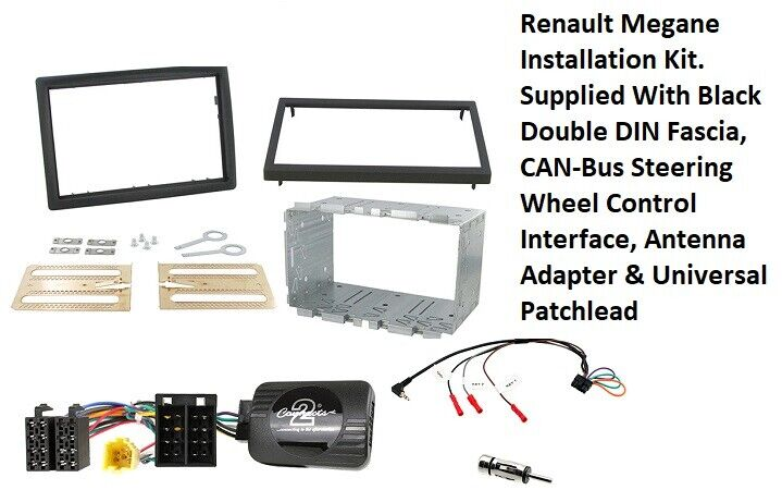 ALPINE IVE-W977BT REPLACEMENT DOUBLE DIN  CAGE KIT SURROUND RADIO HEADUNIT