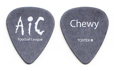 Alice in Chains Football League Chewy Gray Guitar Pick - 2008 Tour