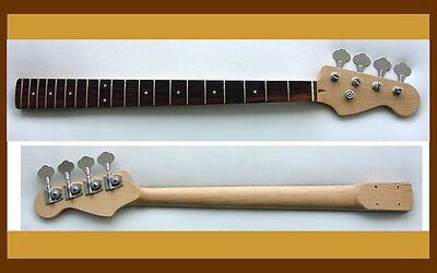 BASS GUITAR NECK Jazz J or P Replacemet   FREE TUNERS on Rummage