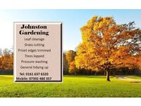 johnston gardening