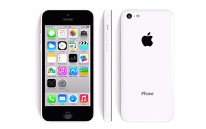 iPhone 5C White Bell/Virgin locked works perfectly great conditi