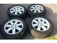 GENUINE LANDROVER DISCOVERY RANGEROVER VOGUE ETC 19 ALLOY WHEELS VW T5 T6 TRANSPORTER