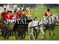 Royal Ascot Tickets: 2 x Windsor Enclosure Tickets for Wednesday 21st June