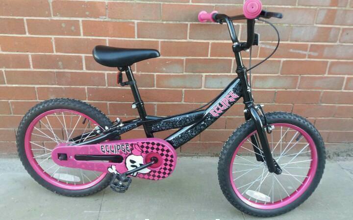"Eclipse kids bike wheels 18"""