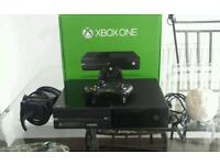 XBOX 1 IN BOX WITH LEADS and CONTROLLER. GREAT GIFT.