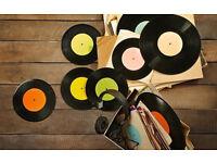 "Vinyl Records Wanted, LP's, 12"", 7"". Soul, Disco, Punk, New Wave."