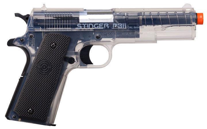Crosman ASP311C Stinger P311 Spring Powered Single Shot Airsoft Pistol
