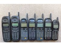 Joblot vintage mobile phones