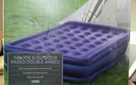 Inflatable double mattress