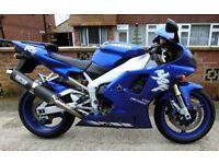 Yamaha 1000cc YZF R1 1998 Motorcycle original LOW mileage (18,000) Tiptree