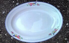 Large GRINDLEY Art Deco H/P SERVING PLATE