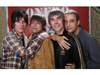 1 x Top Stone Roses ticket near stage cost £82.50 accept £50 ONO!