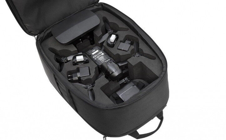 BRAND NEW! PARROT BEBOP 2 DRONE FITTING BACKPACK! MANY POCKETS AND COMPARTMENTS! £100 FROM PARROT!