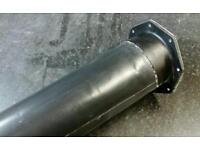 GRP boat scupper drainage system.