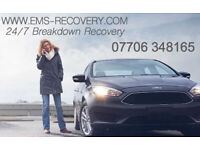 EMS Recovery 07706 348165 Lakeside Thurrock, Bluewater, Chafford Hundred, Brentwood, Grays, Basildon
