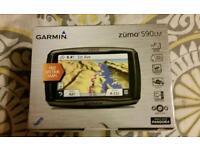 Garmin Zumo 590LM navigation