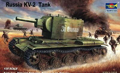 Trumpeter 00312 - 1:35 Russischer Panzer KV-2 - Neu