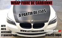 WRAP FIBRE DE CARBONNE