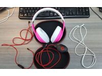 Dr Dre Beats Studio Headphones + original charger + original Remote Talk + case / Limited Edition