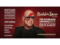 2 cost price Tickets for Mike Garson performing Bowie's Aladdin Sane Water Rats London 24.11.17