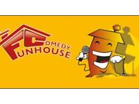 FUNHOUSE COMEDY CLUB - COMEDY NIGHT IN CASTLE DONINGTON SEPTEMBER 2021
