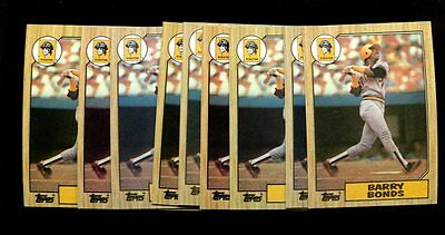 1987 Topps  320 Barry Bonds Rc Lot Of 25 Mint  Inv1839