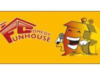 FUNHOUSE COMEDY CLUB - COMEDY NIGHT IN ASHBY DE LA ZOUCH SEPTEMBER 2021