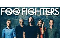 Foo Fighters concert - Friday 22/06/18 -One Standing ticket