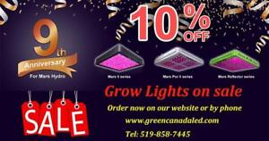 Labour Day Promo 10% Full Spectrum LED Grow Lights for Indoor Growing -Certificate:ETL, CE, cUL -Free Shipping in CANADA