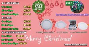 'Christhmas Promo' 40% Discount - 4'' LED Slim Panel / Recessed Potlight 9W = 60W, cETL - IC Rated - 10 Years Warranty