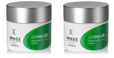 Image Skincare Ormedic Balancing 2 Oz Bio Peptide Creme   2 Pack