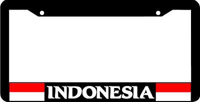 Indonesia Indonesian Flag License Plate Frame