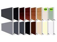 Square Chamfered 10mm UPVC Fascia Capping Board's (Multiple Colors & Sizes Available)