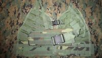 SF Safariland BDU MOLLE II Load Bearing Vest Panels & Belt, New.