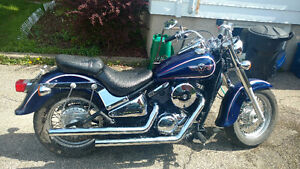 Kawasaki Vulcan 800 Classic. Hoping for a quick sale!