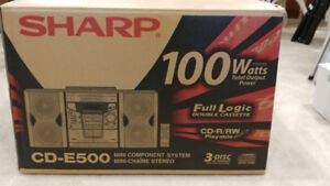 SHARP Mini Stereo Component System