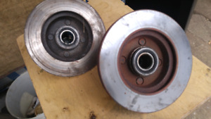 Two fox body 4 cylinder rotors