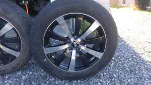 """18"""" x 8"""" rims with a 115mm x 5 pattern"""