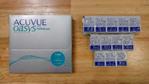 Acuvue Oasys with Hydraluxe 1-Day Contact Lenses -5.50