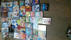 53 plus  DVD's for sale