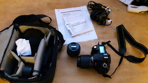 Nikon D90 SLR Camera plus two lenses and accessories