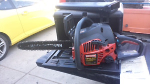 CRAFTSMAN CHAINSAW AS NEW