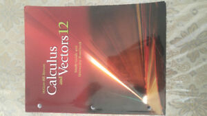 Calculus and Vector 12-McGraw-Hill Ryerson