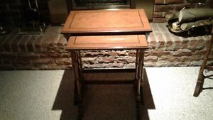 Set of two (2) Nesting Tables