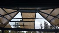 Repair of all new panels for Canopy