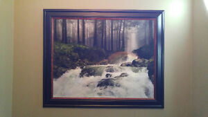 large framed giclée artwork