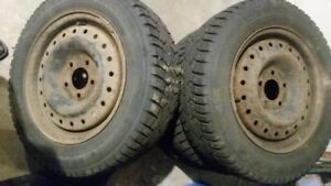 195/65/R15 Tires and Rims for Sale