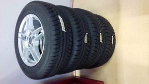 mag wheel package brand new 195/65/15 5-100 bolt pattern West Island Greater Montréal image 1