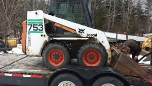 Bobcat with backhoe for hire