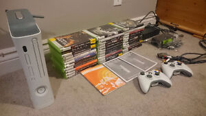16GB Xbox 360, with 33 games.
